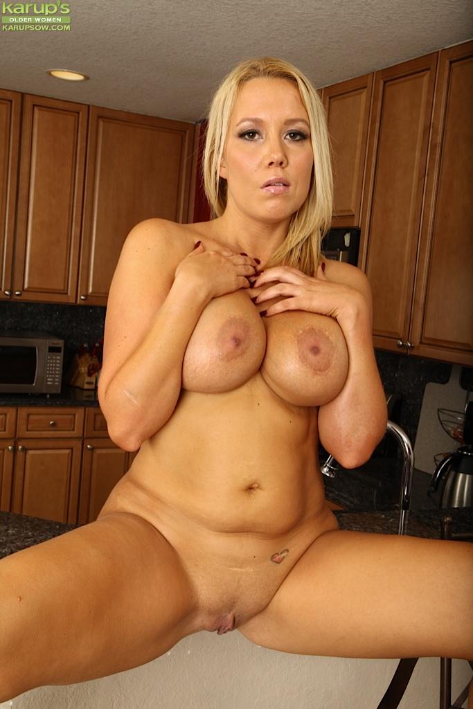 Russian Blonde Big Tits