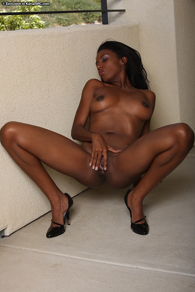Ebony Amateur Mature Solo