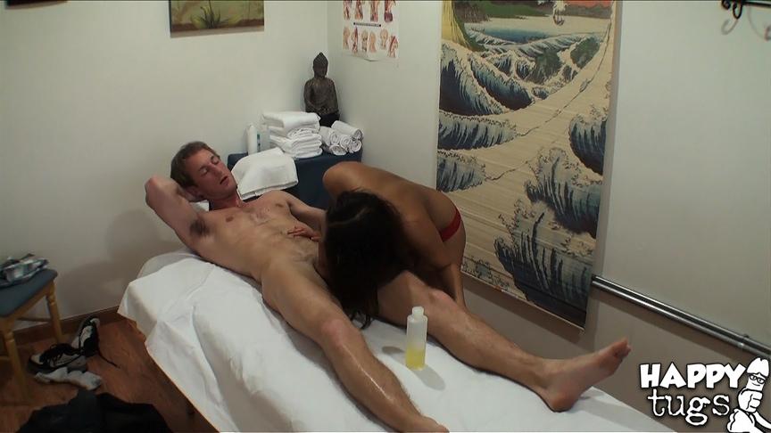 Amateur Asian Massage Parlor