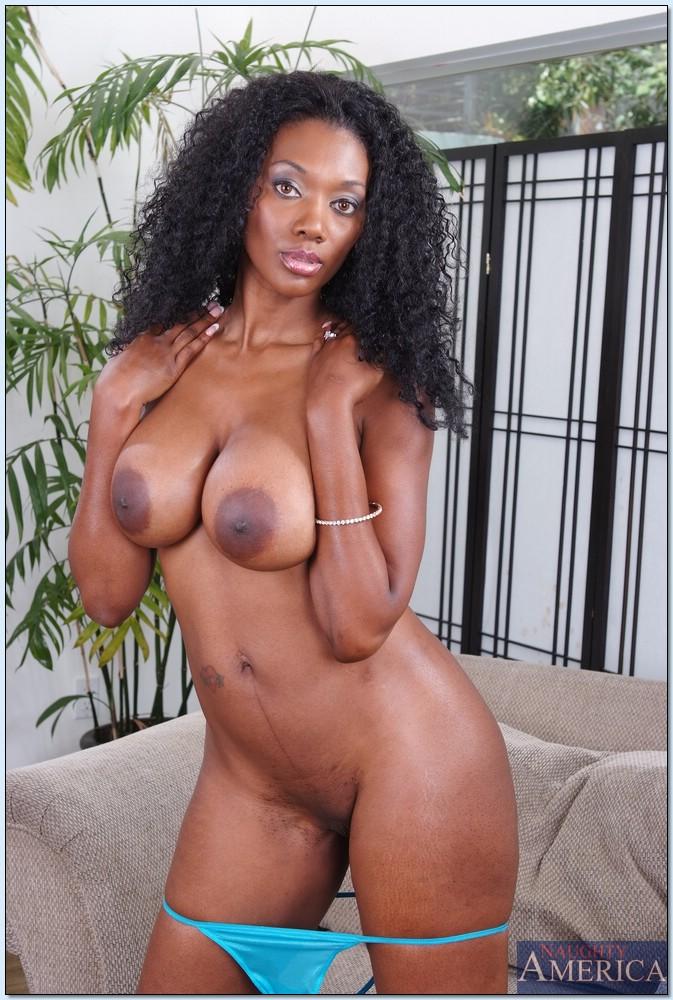 Ebony Big Ass Anal Toy Solo