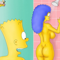Toon porn comics. The Simpsons porn. - Picture 1