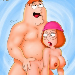 Cartoons porno. Family Guy gets bitches. - Picture 2