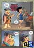 Cartoon sex comics. Flintstones adultery.