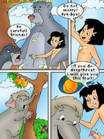 Toon porn comic. Mowgli's sex adventures.