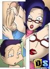 Sex comics. Insane anal diddling.