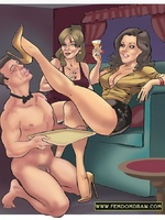 Toon sex. Drawing arts of gorgeous dominant ladies - Picture 3