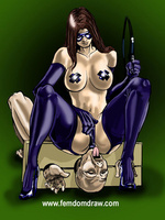 Cartoonsex. Forced femdom drawings of grim - Picture 6