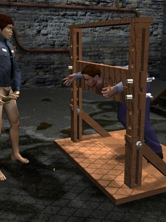 Adult 3d. Unlucky 3D male captured and tortured by a - Picture 6