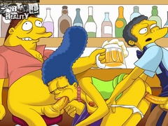 Cartoonporn. Simpsons try hardcore. - Picture 2