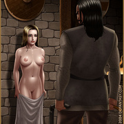 Bdsm cartoons. Slavegirls as booty of war. Great art - Picture 2