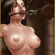 Bdsm cartoons. Slavegirls as booty of war. Great art - Picture 4