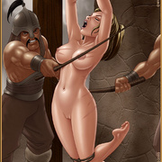 Bdsm cartoons. Slavegirls as booty of war. Great art - Picture 6