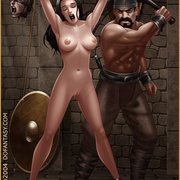 Bdsm cartoons. Slavegirls as booty of war. Great art - Picture 9