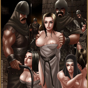 Bdsm cartoons. Slavegirls as booty of war. Great art - Picture 10