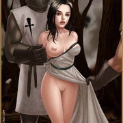 Bdsm cartoons. Slavegirls as booty of war. Great art - Picture 15