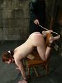 Xxx bdsm. Bound hottie gets caned, - Picture 2