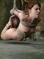 Xxx bdsm. Bound hottie gets caned, - Picture 14