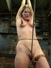 Bdsm xxx. 69 minutes of Harmony tied up - Unique Bondage - Pic 14