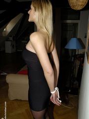 Bdsm girls. Jane tied standing. - Unique Bondage - Pic 10