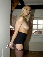 Bdsm girls. Jane tied standing. - Unique Bondage - Pic 14
