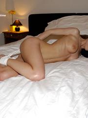 Bondage galleries. Girls in white stockings - Unique Bondage - Pic 2
