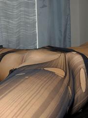Nylon stockings. Jennifer in ripped open - Unique Bondage - Pic 19