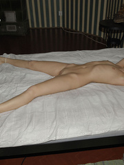 Stockings porn. Girls tied at home to be - Unique Bondage - Pic 6