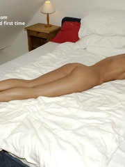 Sexy nylons. Cute blonde vicky gets tied - Unique Bondage - Pic 21