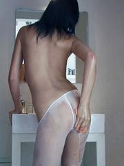 Ladies in stockings. Anastasija in shower - Unique Bondage - Pic 1