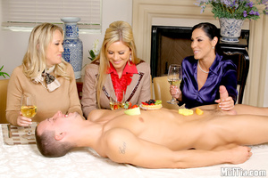 Cfnm. Amazing masterating  alana and her - XXX Dessert - Picture 7