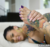 Feet xxx. She says it's her first time doing anything with her feet but