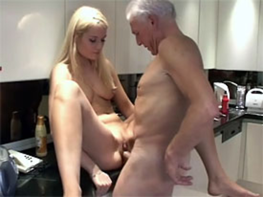 Old Young Love Grandpa Pounding Her Wet Pussy In The Ki - Xxx Dessert-8375