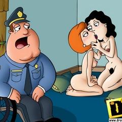 Naked lusty cartoon girls make cocks cum in a few minutes.