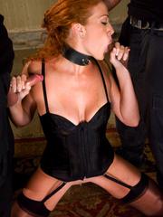 Rough sex. Sabrina Fox graduates from slave - Unique Bondage - Pic 7