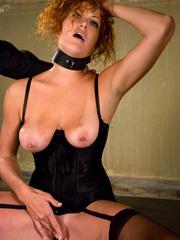 Rough sex. Sabrina Fox graduates from slave - Unique Bondage - Pic 15