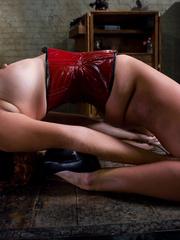 Bondage sex. Slave Slut Sabrina Fox Trained - Unique Bondage - Pic 2