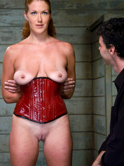 Bondage sex. Slave Slut Sabrina Fox Trained - Unique Bondage - Pic 8