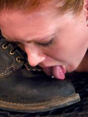 Bondage sex. Slave Slut Sabrina Fox Trained - Unique Bondage - Pic 13