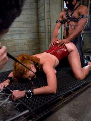 Bondage sex. Slave Slut Sabrina Fox Trained - Unique Bondage - Pic 14