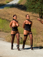 Humiliation. Pony girl slaves trained to - Unique Bondage - Pic 2