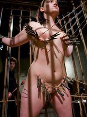 Bondage galleries. Gorgeous Slave girl - Unique Bondage - Pic 5
