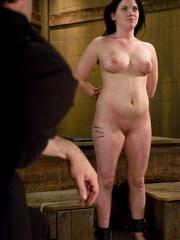 Bondage galleries. Gorgeous Slave girl - Unique Bondage - Pic 10