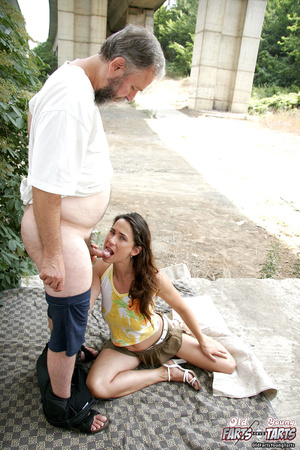 Old having sex with young. Old horny bum - XXX Dessert - Picture 5