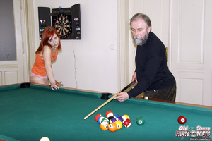 Young old xxx. Senior wins pool and earn - XXX Dessert - Picture 2