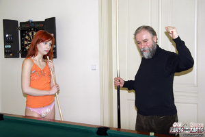 Young old xxx. Senior wins pool and earn - XXX Dessert - Picture 3