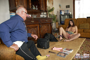 Hardcore. Old pervert is enjoying a mass - XXX Dessert - Picture 5