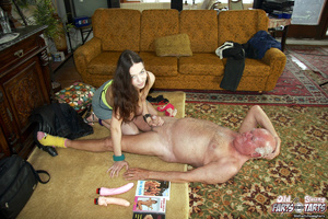 Hardcore. Old pervert is enjoying a mass - XXX Dessert - Picture 7
