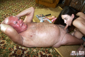 Hardcore. Old pervert is enjoying a mass - XXX Dessert - Picture 8