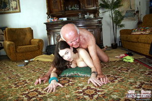 Hardcore. Old pervert is enjoying a mass - XXX Dessert - Picture 13
