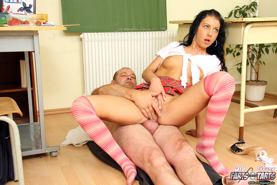 Old And Young A Horny Teacher Eating His S - Xxx Dessert -6807